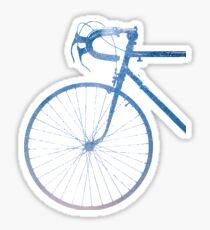 Crescent Bike Galaxy Sticker