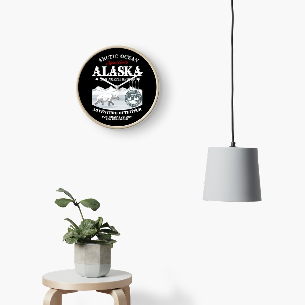 Alaska - Polar Bear - Eisbär Uhr
