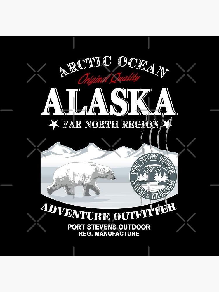 Alaska - Polar Bear - Eisbär von Port-Stevens