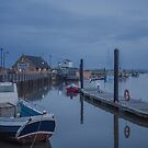 Frosty Start at Wells Harbour by Jim Key