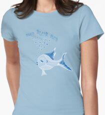 Blub Blub Blub Fish Women's Fitted T-Shirt