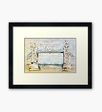 Tower Bridge, London England Framed Print
