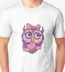 cute lovely owl Unisex T-Shirt