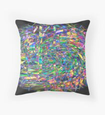 Geometrical clew Throw Pillow