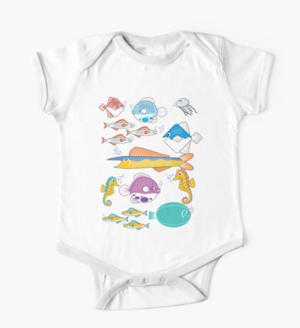Happy Little Fishes Kids Clothes