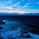 Beach & The rocks  by kyliemaree
