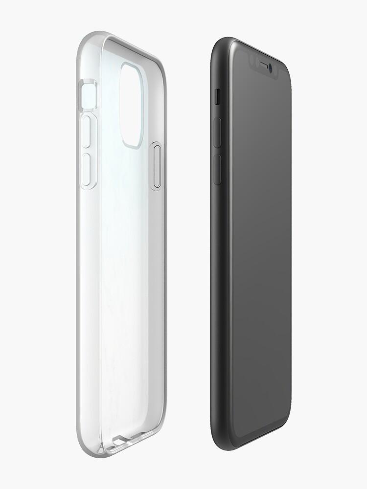 Coque iPhone «Papier peint esthétique en marbre», par warddt