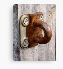 Rusty Loop Canvas Print