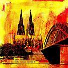 Kölner Dom von Gabi Siebenhühner