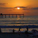 Ocean Beach Sunset by Dave Stephens