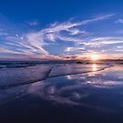 Sunset over Aireys Inlet, Victoria - 2 by axemangraphics