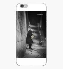 The Golden Saxophone Player iPhone Case