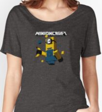 minecraft minions Women's Relaxed Fit T-Shirt