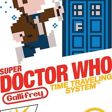 Super Doctor Who by BlooMoo
