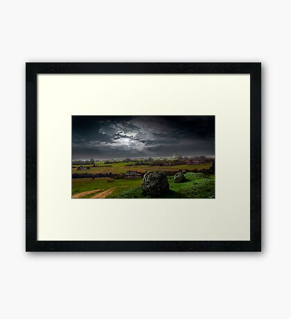 Old Country Framed Print