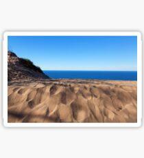 Sleeping Bear Dunes Overlook - Lake Michigan Sticker