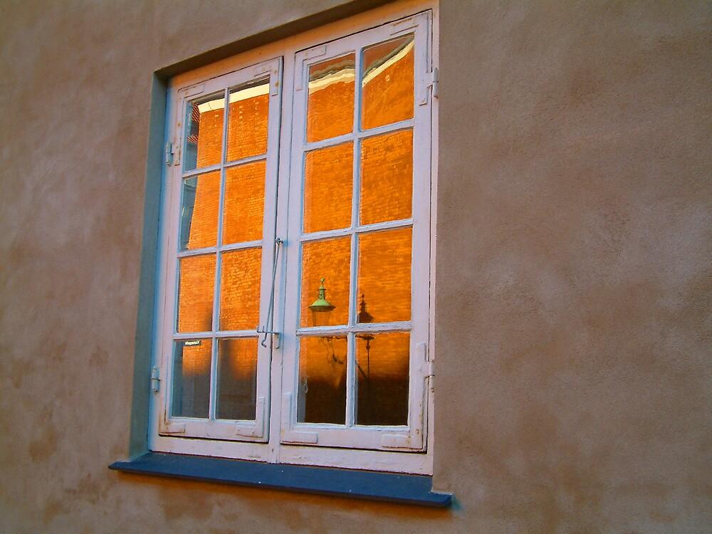 Window in Copenhagen by IngridSonja