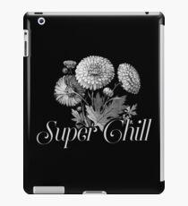 Super Chill Botanical Floral Flower Design iPad Case/Skin