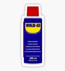 WWJD-40 Sticker