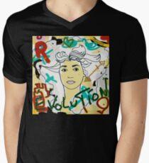 Lady Lindon Men's V-Neck T-Shirt