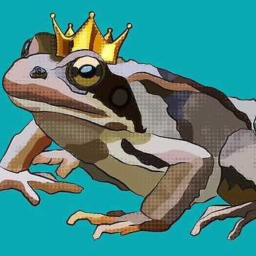 Frog Prince - Frog King - Toad Boss by BeeFoxTree