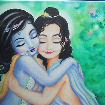 Krishna Balarama by AlexBilbija