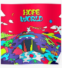 Póster J-hope Hope World mixtape