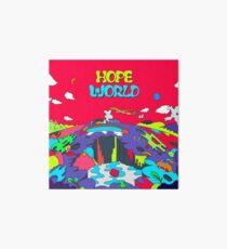 J-Hoffnung Hope World Mixtape Galeriedruck