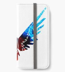 Logan Maverick Hoodie iPhone Flip-Case/Hülle/Klebefolie