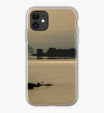 Fisherman at Lochindorb iPhone Case