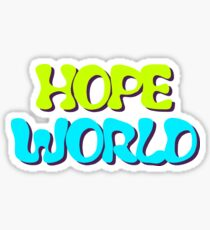 Hope World Sticker
