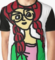 nerdy girl Graphic T-Shirt