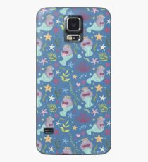 Süße Manatis-Meerjungfrau Hülle & Klebefolie für Samsung Galaxy