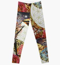 The Creatrix- Goddess Trinity, Part 3 Leggings