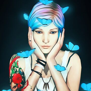 Chloe Price - Butterflies - Life is Strange by Ingenious-Kat
