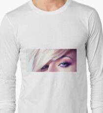Close up eye with beautiful colors Long Sleeve T-Shirt