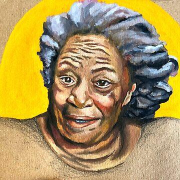 Toni Morrison by sadiesavesit