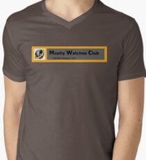 IWL Mostly watches club Men's V-Neck T-Shirt