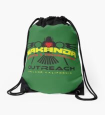 Wakanda Science and Technology Outreach Center Drawstring Bag