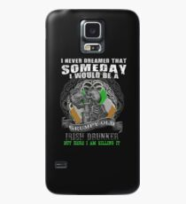grumpy Old Irish Drunker Tees Case/Skin for Samsung Galaxy