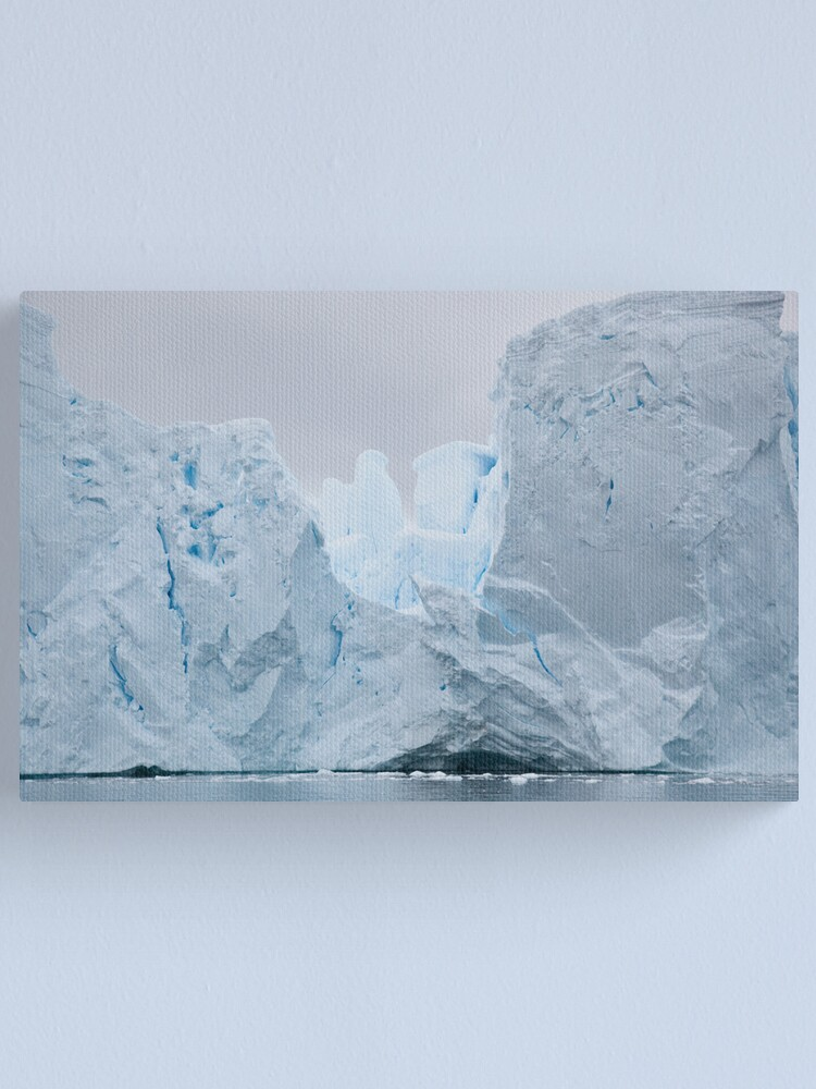 Alternate view of Sculpted iceberg Canvas Print