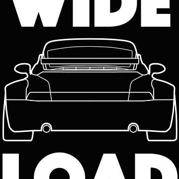 Wide Load - Porsche 911 Wide Body by flatspotapparel