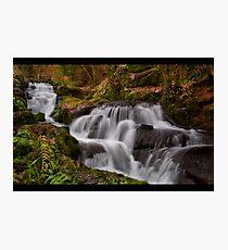Badger Waterfalls Photographic Print