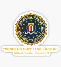 Arcade Winners Dont Use Drugs Sticker