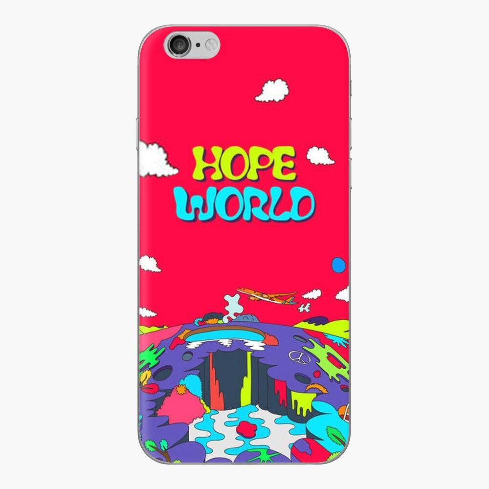 J-Hoffnung HOPE WORLD Album Art v1 iPhone Klebefolie
