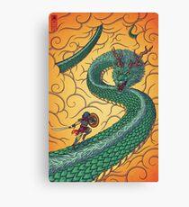 Dragons Fight Canvas Print
