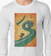 Dragons Fight Long Sleeve T-Shirt
