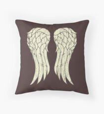 Daryl's Wings Throw Pillow