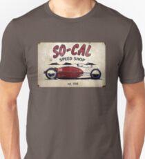 S0-Cal Hot Rod Shop Sign Unisex T-Shirt