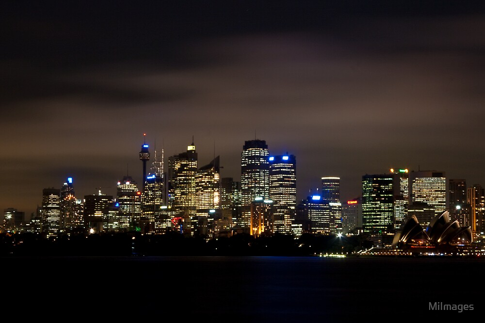 Sydney Skyline & Cityscape by MiImages